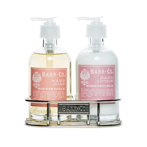 Barr-Co. Soap Shop Honeysuckle Hand & Body Caddy Set