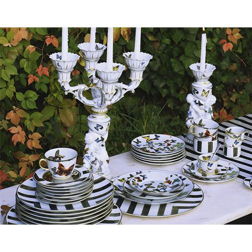 Butterfly Parade Candlestick by Christian Lacroix for Vista Alegre