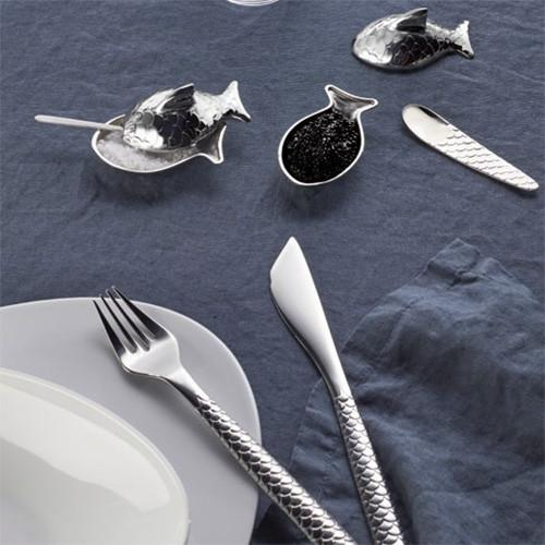 Colombina Fish Salt Cellar by Alessi