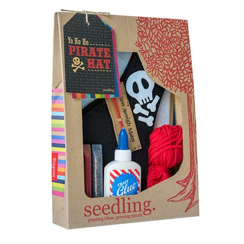 Yo Ho HO Pirate Hat Kit by Seedling