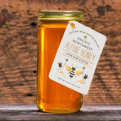 Pure Alpine Honey by Flying Bird Botanicals