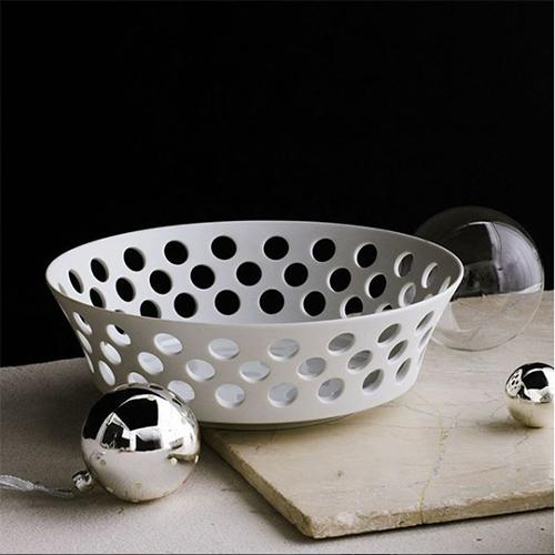 Cielo Fruit Bowl or Bread Basket, Large by Hering Berlin