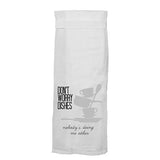 Don't Worry Dishes Nobody's Doing Me Either Kitchen Towel by Twisted Wares
