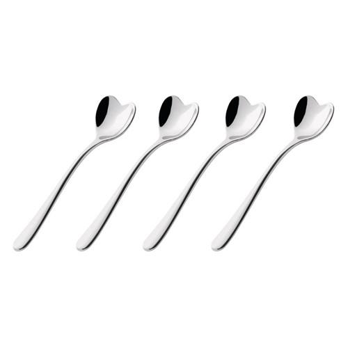 Big Love Coffee Spoons, Set of 4, by Miriam Mirri for Alessi