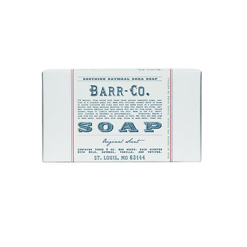 Barr-Co. Original Scent Bar Soap 3 Piece Gift Set