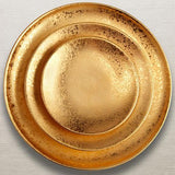 Alchimie Gold Bread & Butter Plate by L'Objet