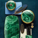 Malachite Pencil Cup by L'Objet