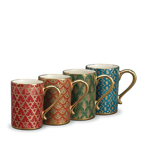 Fortuny Mugs, Set of 4 by L'Objet