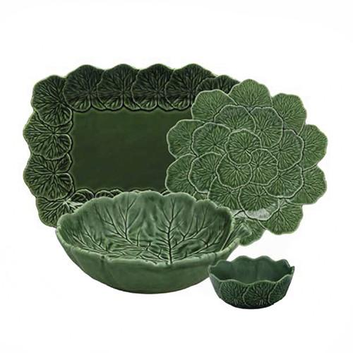 Geranium 4 Piece Place Setting by Bordallo Pinheiro