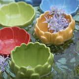"Water Lily Cereal Bowl, 7.5"" by Bordallo Pinheiro"