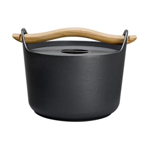 Cast Iron Casserole by Timo Sarpaneva for Iittala