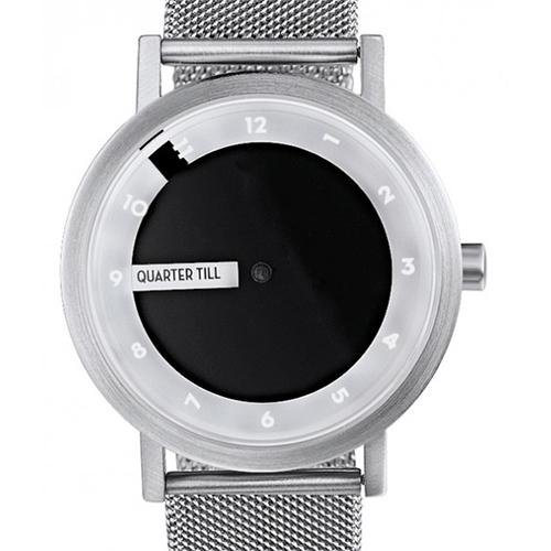 'Till Watch, Steel w/ Mesh Band by Daniel Will-Harris for Projects Watches