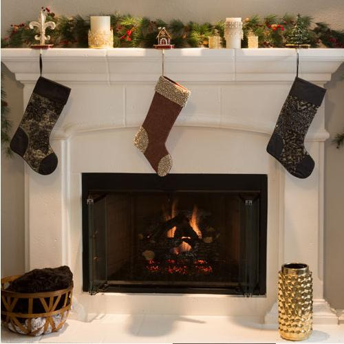 Christmas Tree Stocking Holder by Olivia Riegel