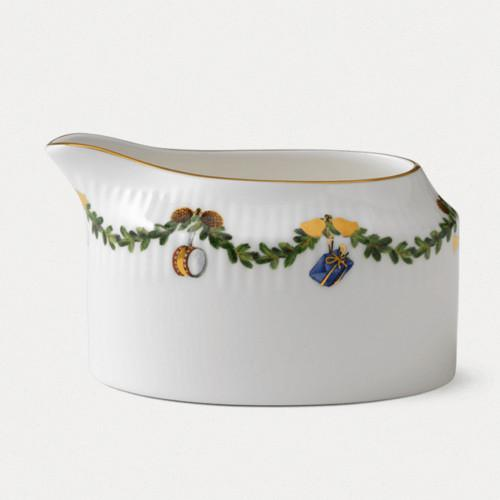 Star Fluted Christmas Creamer by Royal Copenhagen