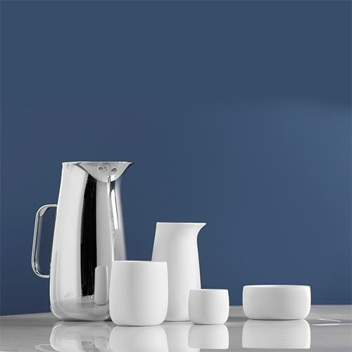 Porcelain Carafe by Sir Norman Foster for Stelton