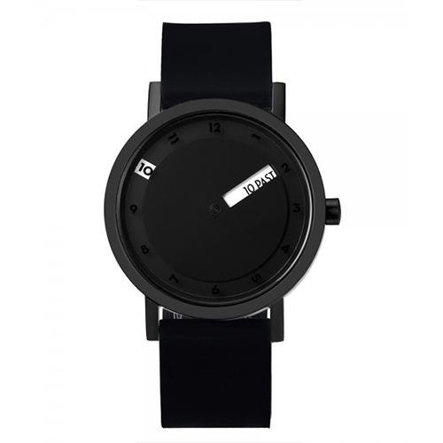 'Till Watch, Black by Daniel Will-Harris for Projects Watches
