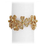 Garland Napkin Jewels Napkin Rings, Set of 4 by L'Objet