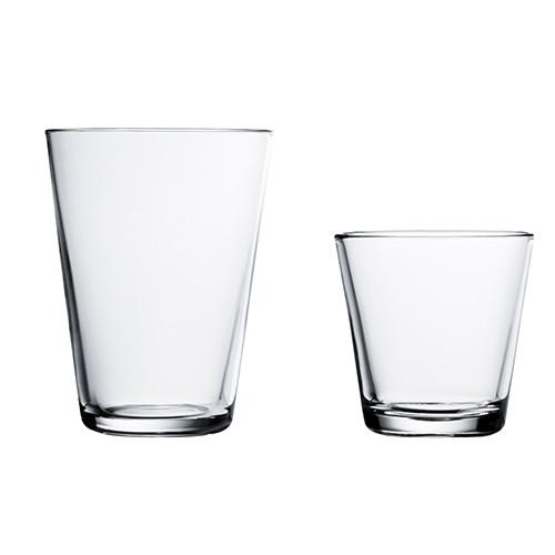 Kartio Glasses, ONE by Kaj Franck for Iittala OPEN STOCK