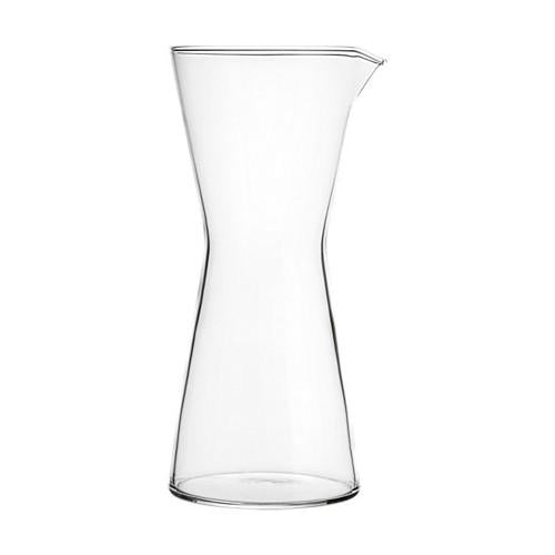 Kartio Glass 1 Quart Carafe or Pitcher by Kaj Franck for Iittala