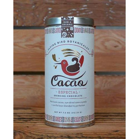Especial Cacao Drinking Chocolate by Flying Bird Botanicals
