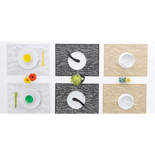 Chilewich: Drift Pressed Vinyl Placemats