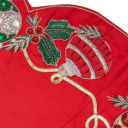Holiday Tidings Tree Skirt By Kim Seybert