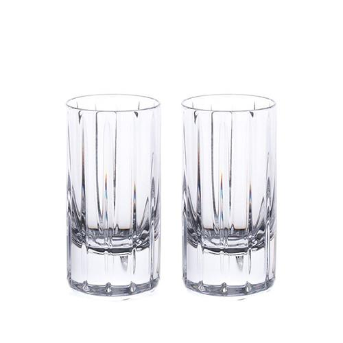 Avenue Shot Glasses, Set of 2 by Rogaska 1665