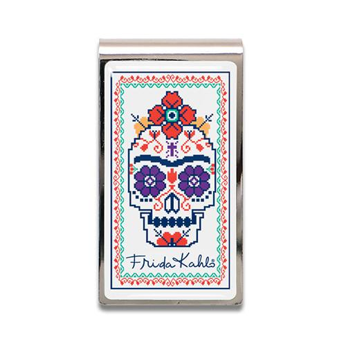Sugar Skull Money Clip by Frida Kahlo and Acme Studio