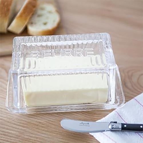 Beurre Butter Glass Dish
