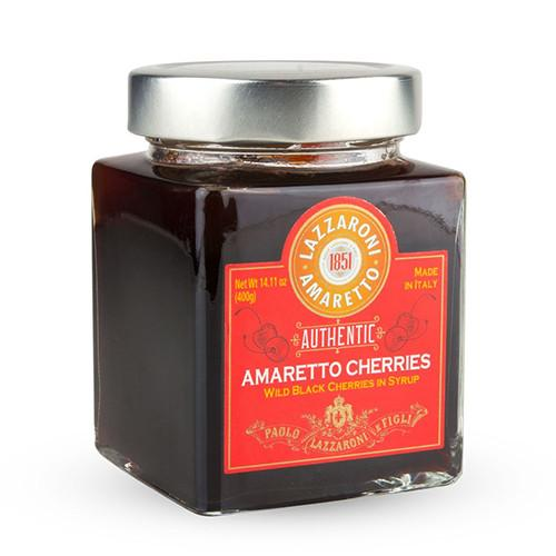 Amaretto Amarena Cherries in Syrup by Lazzaroni
