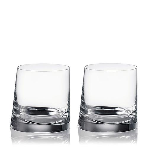 90 Degrees Double Old Fashioned, Set of 2 by Rogaska 1665