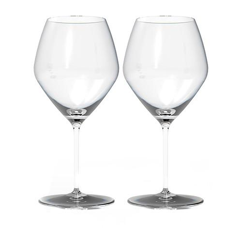 Expert Y Pinot Glasses, Set of 2 by Rogaska 1665