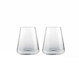 Armonia Stemless Glasses, Set of 2 by Rogaska 1665