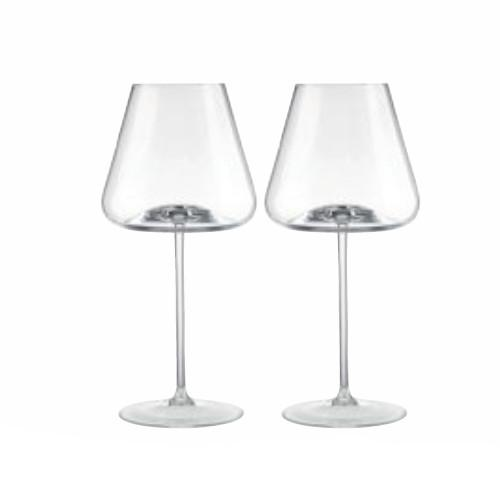 Armonia Red Wine Glasses, Set of 2 by Rogaska 1665