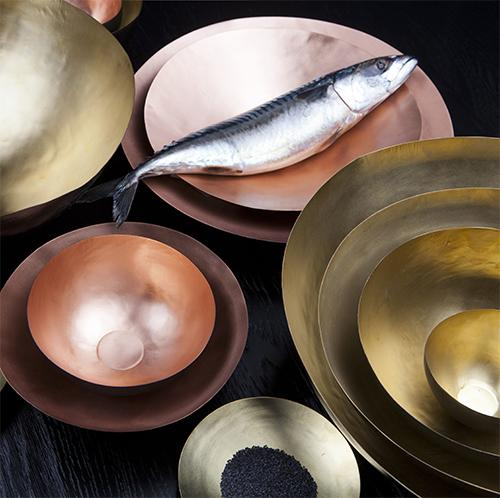 Form Bowls, Set of 5 Large by Tom Dixon