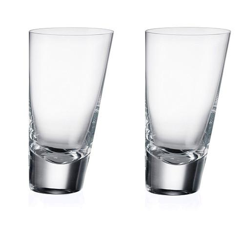 90 Degrees Highball, Set of 2 by Rogaska 1665