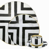 Sol y Sombra Demitasse Coffee Cup & Saucer by Christian Lacroix for Vista Alegre