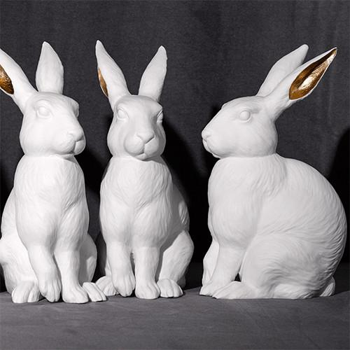 Rabbit or Lapin Sculpture by L'Objet