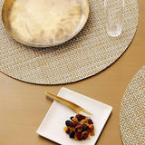 Chilewich: Basketweave Woven Vinyl Placemats Sets of 4 & Runners, 21 Colors