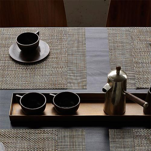 Chilewich: Basketweave Woven Vinyl Placemats & Runners, 21 Colors
