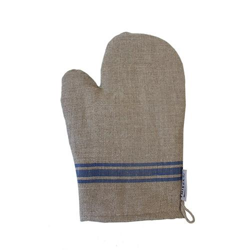 Linen Oven Mitt by Thieffry Freres & Cie