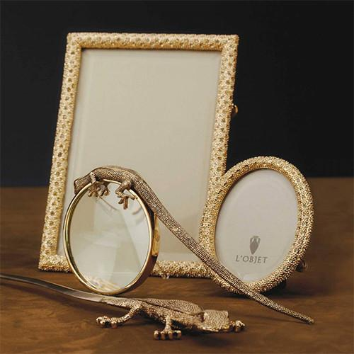 Rectangular Pave Photo Frame by L'Objet