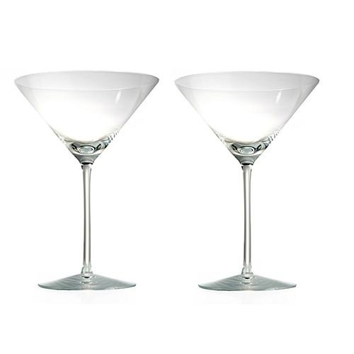 Expert Martini Glasses, Set of 2 by Rogaska 1665