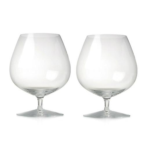 Expert Cognac Glasses, Set of 2 by Rogaska 1665