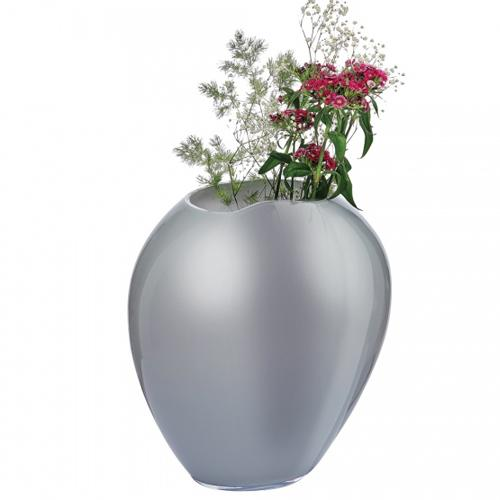 Satin Large Vase by Alejandro Ruiz for Nude