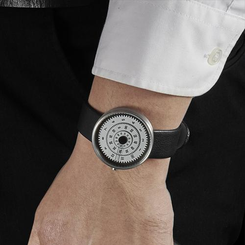 Vault Time Machine Watch by Daniel Will-Harris for Projects