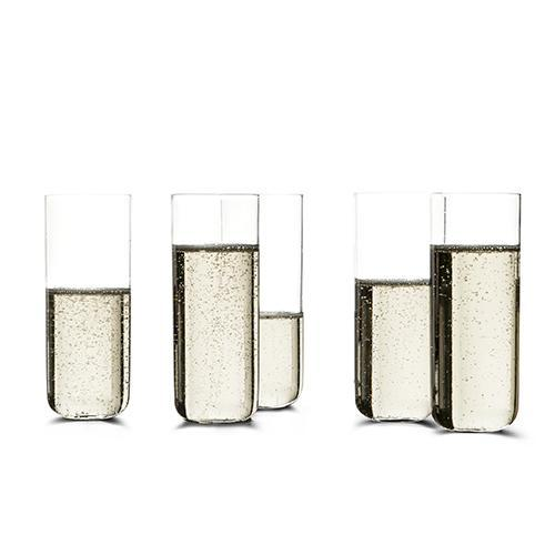 Champagne Glass, set of 6 by Vincent Van Duysen for When Objects Work
