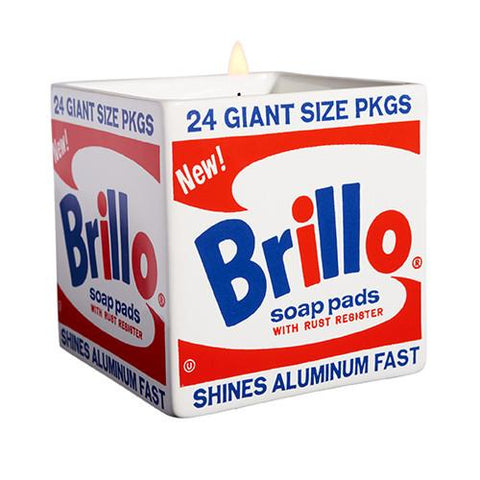 Andy Warhol Brillo Candle by Ligne Blanche Paris