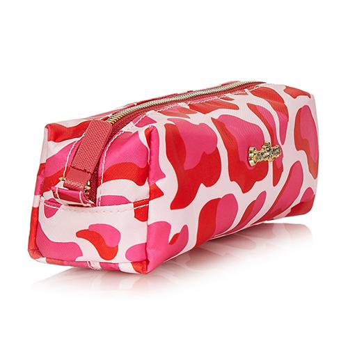 Blushes Over Your Makeup Pink Camp Brush Bag by Emma Lomax London