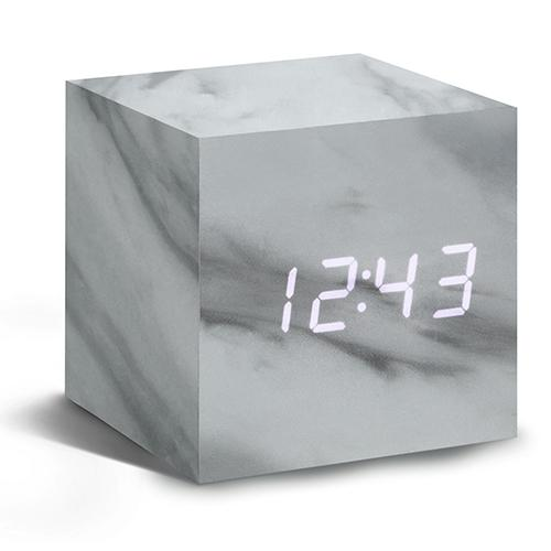 Marble Click Clock by Gingko